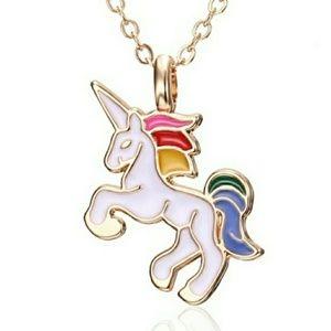 Jewelry - Unicorn necklace new 16-inch chain